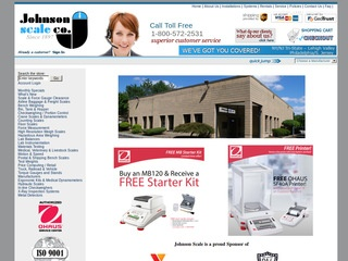 Johnson Scale Co Web Site