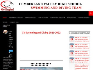 CUMBERLAND VALLEY HIGH SCHOOL SWIMMING AND DIVING TEAM