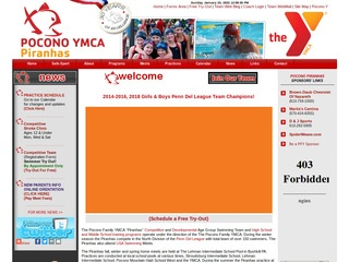 Pocono Family YMCA Swim Team