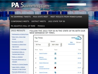Pa Swimming