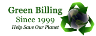 Green Billing by SpiderWeave.com in East Stroudsburg
